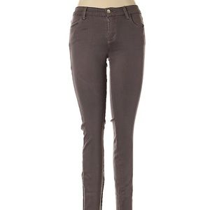 J Brand gray super skinny jeggings Size 26